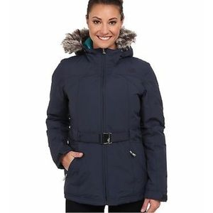 The north face Greenland down puffer fur coat s